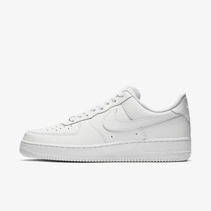 Nike   Women's White Air Force 1 Low Top Sneakers